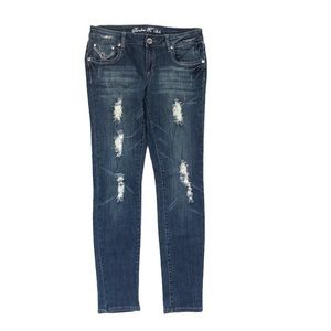 Distressed Skinny Jeans Size 11